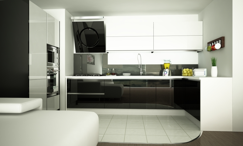 kitchen Black&White